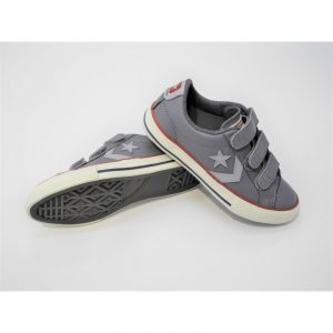Chaussure basse velcros Converse : Star Play Vel