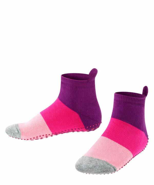 chaussette antidérapante violet