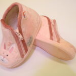 Chausson zip fille