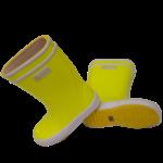 botte caoutchouc jaune